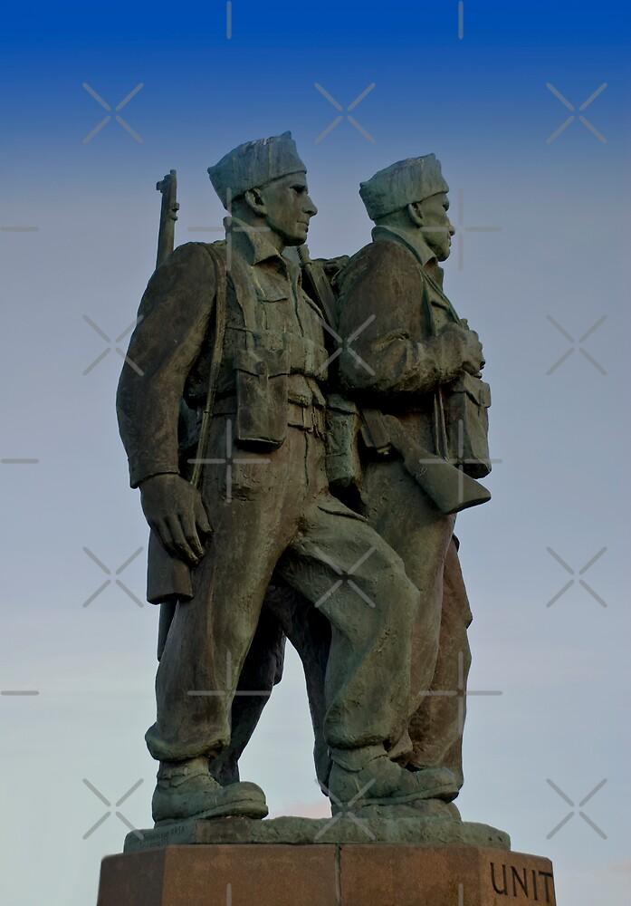 The Commando Memorial by Terry Mooney