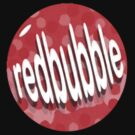 Redbubble Badge T-shirt by Alan Hogan