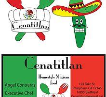 Mexican Restaurant Logo by Angel Contreras