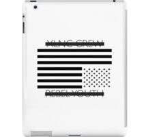 Rebel Youth - Black Flag iPad Case/Skin