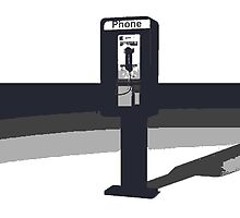 Pay phone by Chelsey Hernandez-Guevara