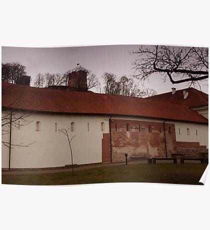 Vilnius Castle ensemble Poster