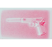 A Girls Best Friend, Pink Photographic Print