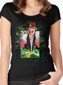 Acid Drop - Wizard of Wonka Women's Fitted Scoop T-Shirt