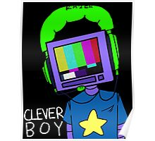 clever boy (color) Poster