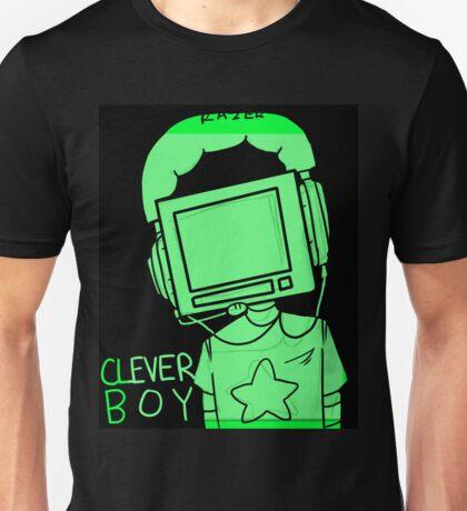 clever boy (green) Unisex T-Shirt