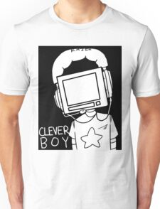 clever boy (white) Unisex T-Shirt