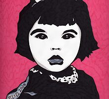 Baby Bjork by Angelique  Moselle