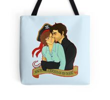 Hookfire - Captain of My Heart Tote Bag