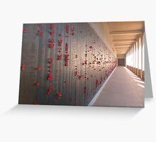 War Memorial, Canberra Greeting Card