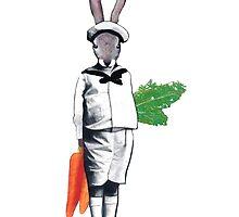 Mischievous Rabbit by jmadesigns