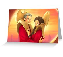 Time Lords of Gallifrey Greeting Card