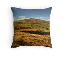 Brown Willy Bodmin Moor Throw Pillow