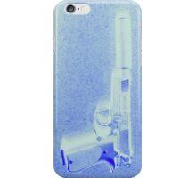 A Girls Best Friend, Blue iPhone Case/Skin