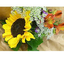 Country Bouquet Photographic Print