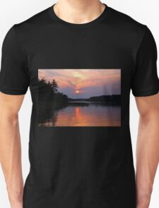 Moon River Silhouette Unisex T-Shirt