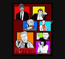 pulp fiction character collage pop art Unisex T-Shirt