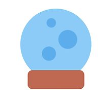 Crystal Ball Twitter Emoji by emoji