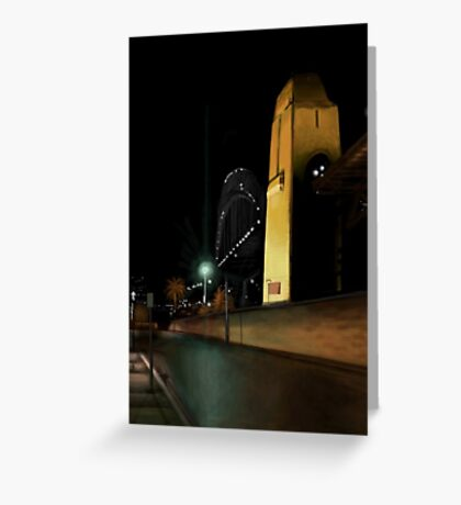 Sydney Midnight Greeting Card