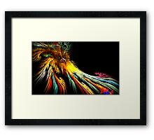 The Mask of the Winters Solstice Framed Print