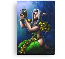 Night Elf Druid Canvas Print
