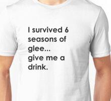 I survived 6 seasons of glee Unisex T-Shirt