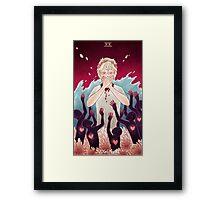 Toothy Tarot: Mïllo (Judgement) Framed Print