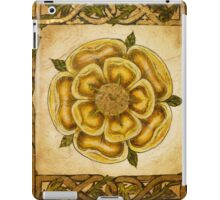 Yellow Celtic Rose iPad Case/Skin