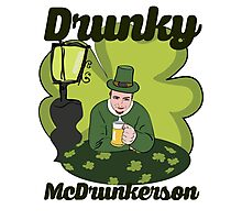 Drunky McDrunkerson Photographic Print