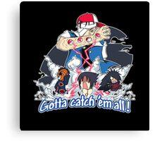 """ Danzo Master trainer "" ( Pokémon / Naruto ) Canvas Print"