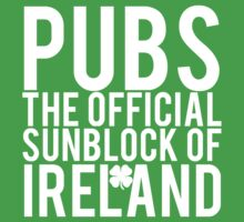Pubs Irelands Sunblock by mralan