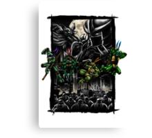 Battle for New York Canvas Print