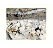 The Badlands, Alberta Art Print
