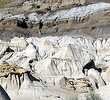 The Badlands, Alberta by George Cousins