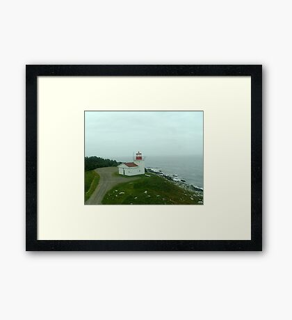 Port Bickerton Light Framed Print