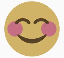 Smiling Face With Smiling Eyes Twitter Emoji T-Shirt