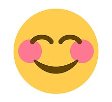 Smiling Face With Smiling Eyes Twitter Emoji by emoji