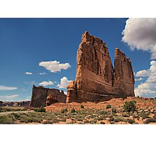 Courthouse Towers Photographic Print