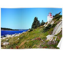 Port Bickerton Lighthouse  Poster
