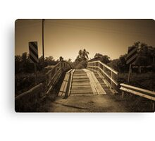 Telegraph Point Bridge Canvas Print