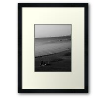 A Beach Picnic Framed Print
