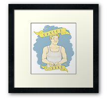 Martin Freeman, Bee Savior Framed Print