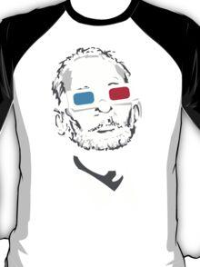 bill murray steve zissou 3d glasses T-Shirt