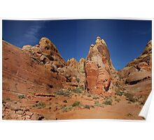 Valley of Fire - The White Domes Poster