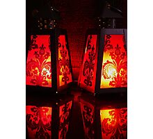 Red Lanterns Photographic Print