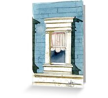 Window in San Francisco Greeting Card