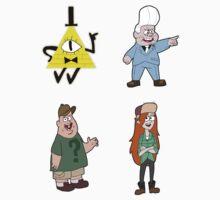 Gravity Falls set 2 by Kai Shepard