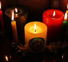 Candle Flames by Evita