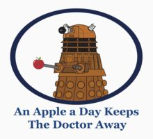 An Apple A Day Keeps The Doctor Away Kids Tee