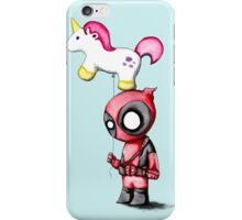 Merc with a Unicorn iPhone Case/Skin